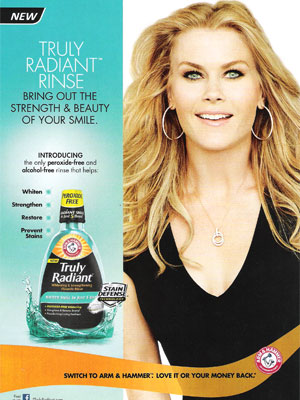 Alison Sweeney Arm and Hammer