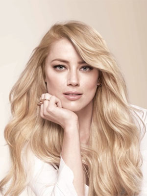 Amber Heard L'Oreal Celebrity Beauty Ads