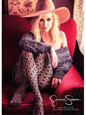 Ashlee Simpson Jessica Simpson Collection celebrity fashion