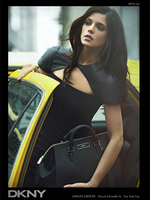 Ashley Greene DKNY celebrity endorsements
