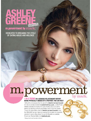 Ashley Greene Mark cosmetics