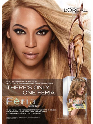Beyonce L'Oreal Paris 2013 beauty ads