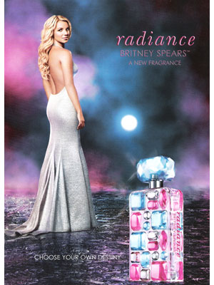 Britney Spears for Radiance Britney Spears celebrity perfumes