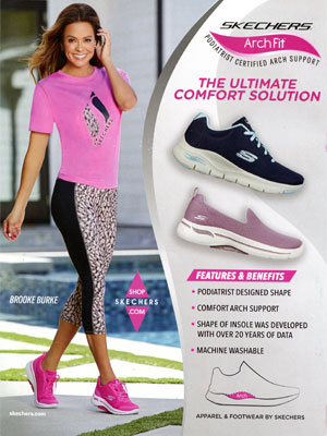 Brooke Burke Skechers Celebrity Endorsement Ads