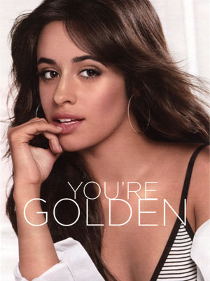 Camila Cabello L'Oreal Celebrity Makeup Ads