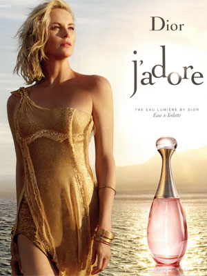 Charlize Theron Dior Fragrance Ads