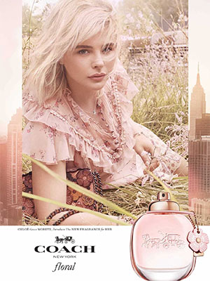 Chloe Grace Moretz Coach Celebrity Ads