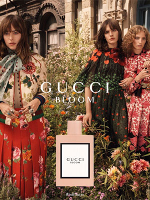 Dakota Johnson Gucci Celebrity Ads