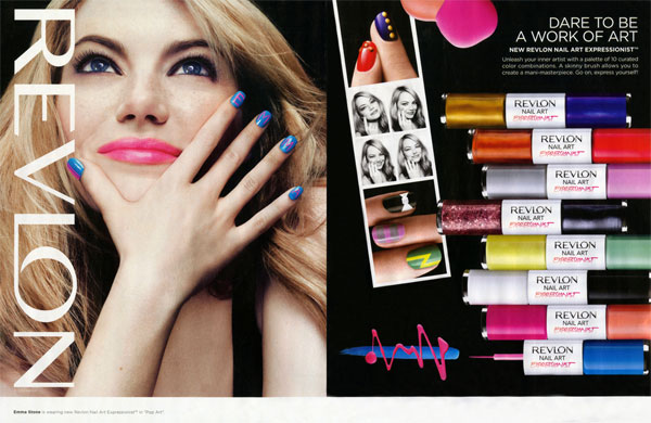 Emma Stone Revlon celebrity endorsements