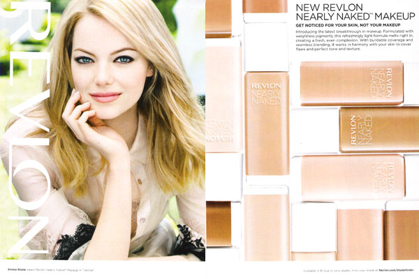 Emma Stone Revlon makeup celebrity endorsements