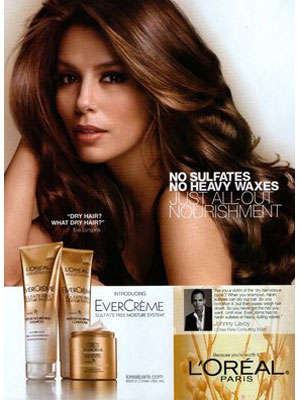 Eva Longoria L'Oreal celebrity endorsements