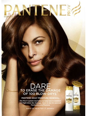 Eva Mendes Pantene celebrity endorsements