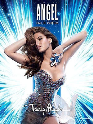 Eva Mendes Angel perfume celebrity endorsements