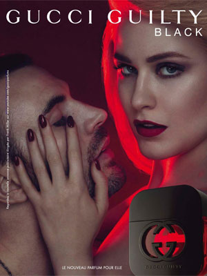 Evan Rachel Wood Gucci celebrity endorsement ads