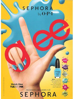 Glee for Sephora by OPI celebrity endorsements