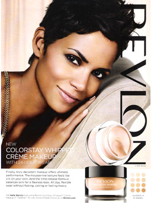 Halle Berry Revlon celebrity endorsements