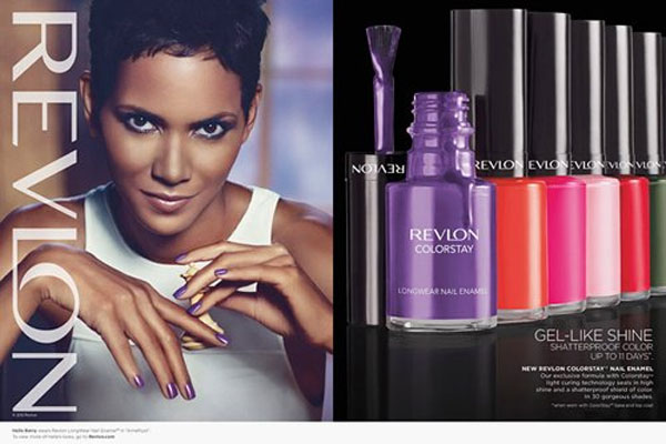 Halle Berry Revlon celebrity endorsement ads