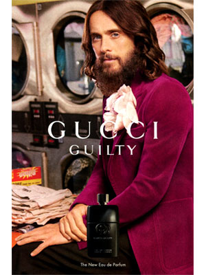 Jared Leto Gucci Endorsements
