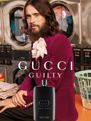 Jared Leto Gucci Guilty Eau de Parfum Celebrity Endorsements