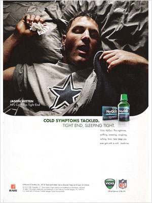 Jason Witten Vicks Nyquil