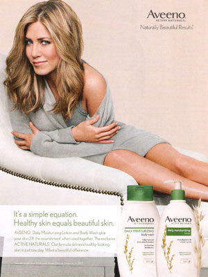 Jennifer Aniston Aveeno Ad 2016