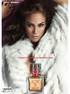 Jennifer Lopez JLove fragrance celebrity perfume ads