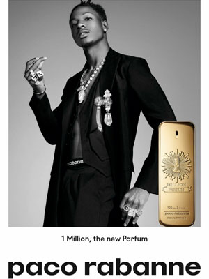 Joey Bada$$ Paco Rabanne Perfume Celebrity Endorsement Ads