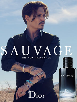 Johnny Depp Dior Fragrance Ad