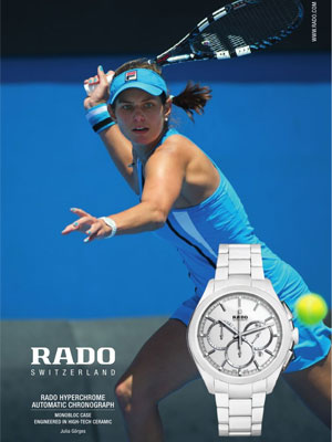 Julia Goerges Rado celebrity endorsements