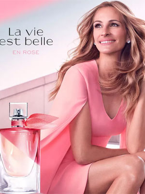 Julia Roberts Lancome Celebrity Beauty Ads