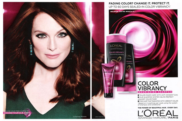 Julianne Moore L'Oreal