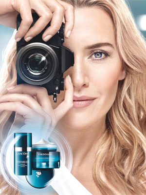 Kate Winslet Lancome Visionnaire Ad 2017