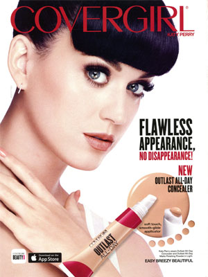 Katy Perry CoverGirl Ads