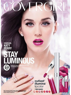 Katy Perry CoverGirl celebrity ad endorsements