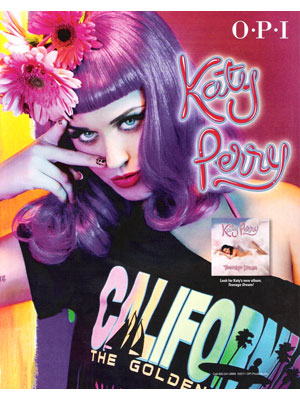 Katy Perry, OPI Nail Polish