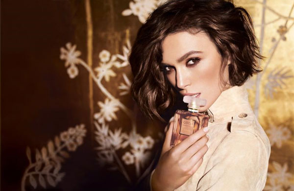 Keira Knightley Coco Mademoiselle Chanel celebrity endorsements