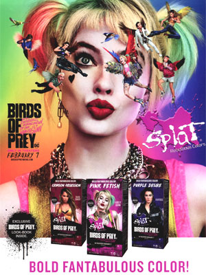 Margot Robbie Birds of Prey Splat 2020