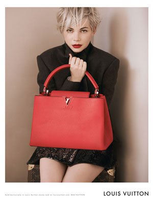 Michelle Williams celebrity fashion ads