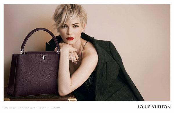 Michelle Williams Louis Vuitton celebrity fashion