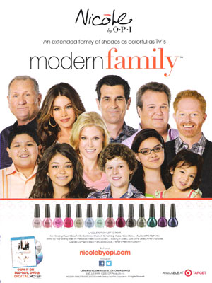 Modern Family OPI celebrity endorsements