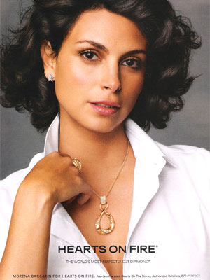 Morena Baccarin Hearts On Fire