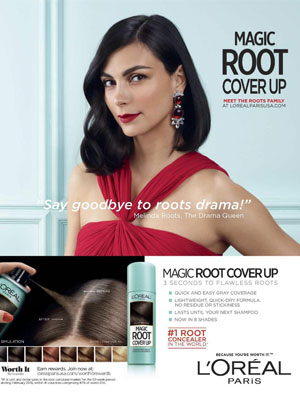 Morena Baccarin L'Oreal Celebrity Endorsements
