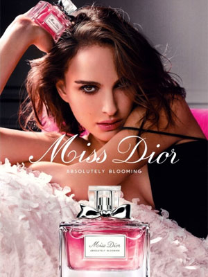 Natalie Portman Miss Dior Absolutely Blooming Ad
