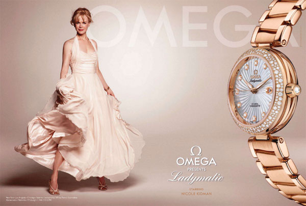 Nicole Kidman Omega celebrity endorsements