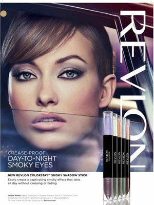 Olivia Wilde Revlon celebrity endorsements
