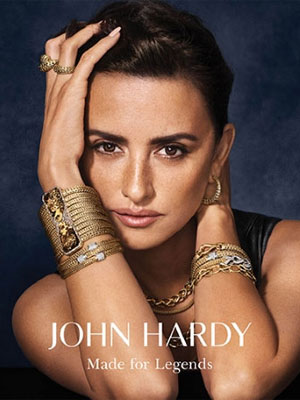 Penelope Cruz John Hardy Celebrity Fashion Ads
