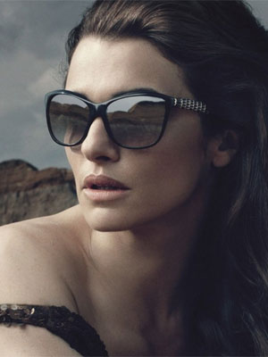 Rachel Weisz Bvlgari Sunglasses celebrity endorsement adverts