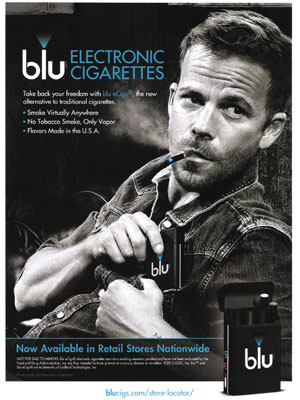 Stephen Dorff Blu eCigs celebrity endorsements
