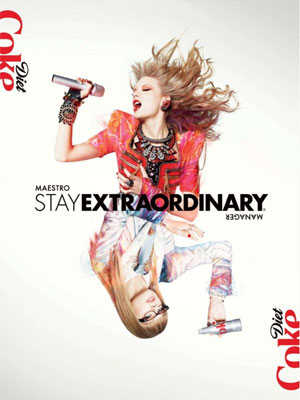 Taylor Swift Diet Coke celebrity endorsement ads