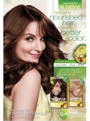 Tina Fey Garnier celebrity endorsements